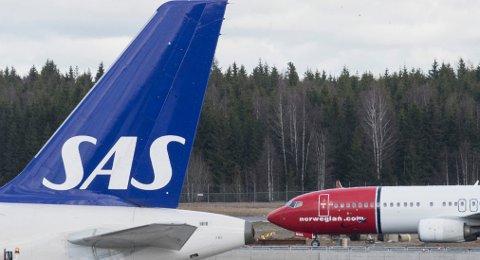 Norske piloter tjener godt over 80.000 kr i måneden i gjennomsnitt, viser statistikk fra SSB. Foto: Vidar Ruud, NTB scanpix/ANB