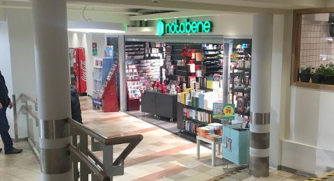 Notabene har butikker i Kristiansund (bildet) og i Surnadal. Tirsdag slo kjeden seg konkurs.