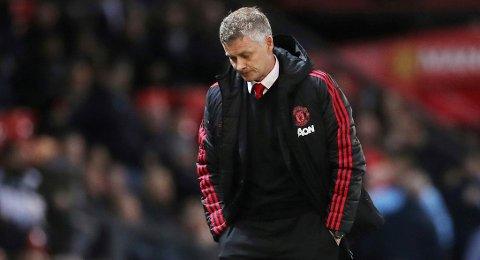 Tungt: Det har vært noen tøffe uker for Ole Gunnar Solskjær som Manchester United-sjef.