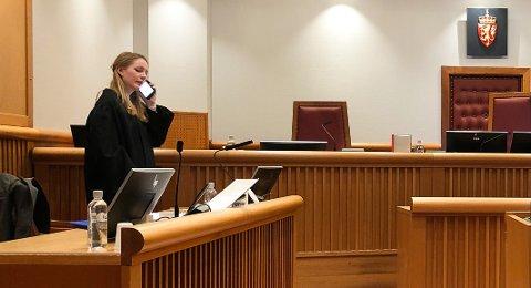 Politiadvokat Suzanne Molund ønsker torsdag ettermiddag ikke å si noe som helst om saken eller politiets etterforsking. (Arkivfoto)