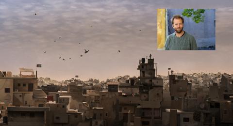 LIVET SOM FLYKTNINGER: Animasjonsfilmen til Mats Grorud tar for seg livet i de palestinske flyktningleirene i Libanon.