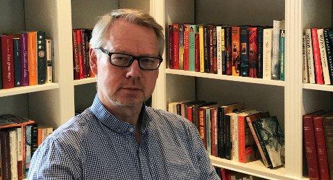 GÅR GREIT: Styreleder og daglig leder i Skjelland Group AS, Trond Vidar Skjelland melder om stabil drift i butikken.