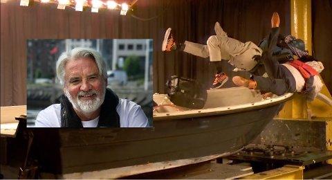 NYE KRAV: At det nå blir krav til høyhastighetsbevis for båtførere har Redningsselskapet jobbet for i flere år, forteller informasjonssjef Frode Pedersen i Redningsselskapet. Bildet av krasjen er hentet fra en video fra Redningsselskapet.