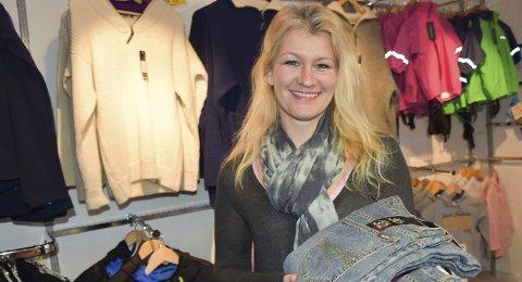 Har fremdeles tro på butikk i sentrum: Evy Ann Winther Pedersen drev Ace Outlet i gågata i tre år. Arkivfoto
