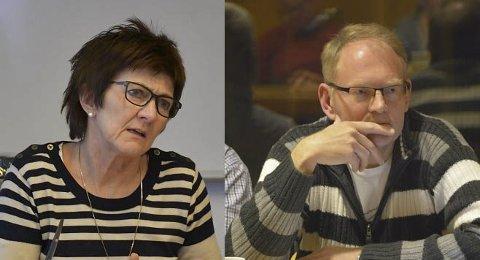 Sa nei: Ordfører Marianne Landaas og ordfører Kjetil Torp, satte sammen med Gjerstads ordfører og Risørs ordfører  foten ned forrige gang.