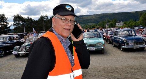 Avlyser: Løpsleder Torbjørn Moen sier at det er med tungt hjerte at de må avlyse arrangementet 6. juni. 5. september arrangerer veteranbilklubben i stedet «koronafri» kjøretur. Moen oppfordrer for øvrig bilfolket til å slutte opp om bilkortesjene som skal gå 17. mai.