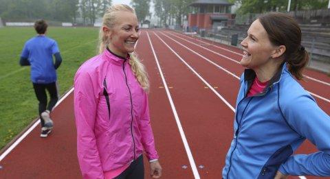 Livsgnist: Vibeke Sjøkvist og Mette Skjeldam startet opp treningsbedriften LivsGnist i januar.Foto: Henriette slaatsveen