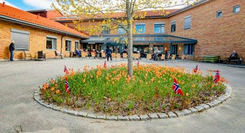 STRENGT: Hver beboer på Moer sykehjem i Ås får kun ha 30 minutter med besøk av pårørende i uka.