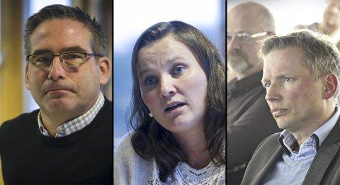 RETTAR KRASS KRITIKK: Leif Sleire har meldt seg ut, medan Ingrid Hindenes og Halvard Rydland begge har tenkt tanken på å melda seg ut av Lindås Høgre. ARKIVFOTO