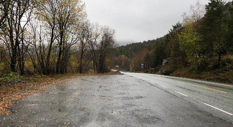 Skal utbedres: Ulykkesbelastet veistrekning på over fem kilometer mellom Bodø og Fauske skal forbedres og trafikksikres for flere hundre millioner kroner.