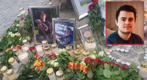 MISTET KAMERAT: Karim Alexander Bougacha mistet kameraten Kristian  2019. Han mener det er viktig å spørre hvordan det faktisk går.