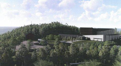 SLIK: Ønsker den læstadianske forsamling at det nye bygget deres på Orneshaugen skal bli.                       Illustrasjon: UNO design & arkitektur AS