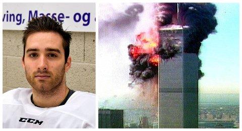 L.I.K.-spiller Austin Cangelosi bodde i New Jersey, bare halvannen time unna Manhattan da terrorangrepene 11. september skjedde.