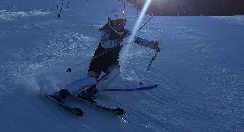 STADIG BEDRE: Hannah Sæthereng har hatt en fin start på sesongen. Foto: Privat