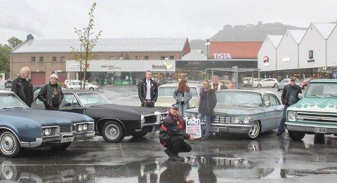 AMCARSHOW: Halden er 5. juli stoppested for Norway Cruise, som vil tilbakelegge 7 600 kilometer og besøke 30 byer og tettsteder med Amcar Road Show.foto: Rune svendsen