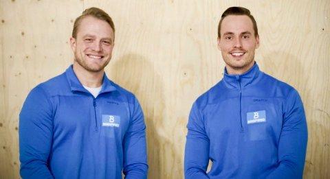 NYOPPSTARTET: Magnus Gunneng og Nikko Segersteen har startet sitt eget PT-firma, Beinspired AS.