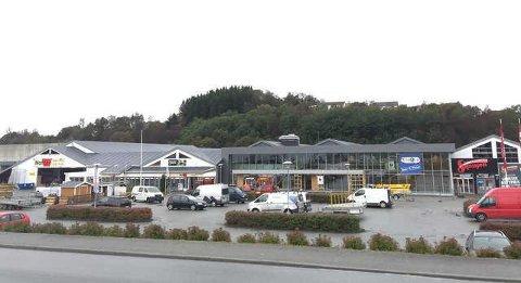 KOMMER HER: Hjem- og fritidsvarehuset Rusta etablerer seg i Raglamyrvegen 5. Butikkåpning er satt til april.