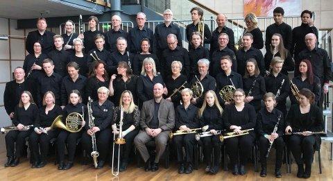 TIL TOPPS: Haugesund Janitsjarorkester vant 5. divisjon i helga.