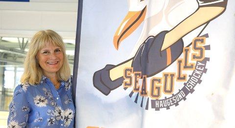 VIL HA SAMARBEID: Eli Sævareid går inn i Haugesund Seagulls via barnehagekjeden FUS. Nå håper hun har barnehagebarn kan komme på isen også i Haugesund.
