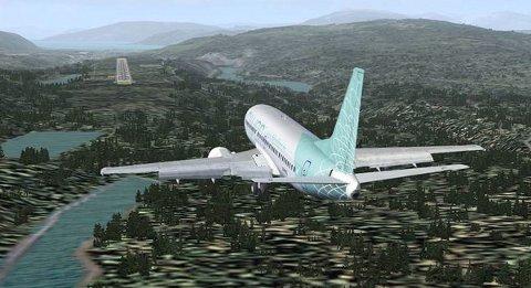 Flyplass-prosjektet på Mo. Illustrasjon: polarsirkelen lufthavnutvikling