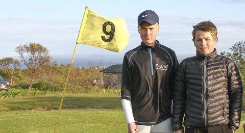UNGE FAVORITTER: Johannes Betsi og Chris Johan Larsen er ifølge klubbleder Knut Busk blant favorittene foran helgas finnmarksmesterskap og touravslutning.