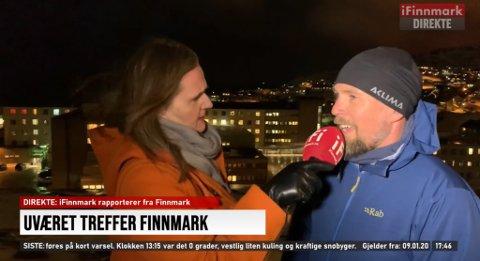 Vi prøver så godt vi kan å gi et godt tilbud til pasientene på hjemplassen i samarbeid med legevakten, sier Jørgen Nilsen, klinikksjef for Finnmark sykehuset