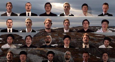 Skjermdump fra Moillrocks nye forslag til nasjonalsang.