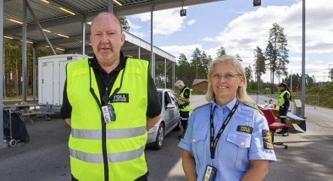 Avdelingsleder Asle Farberg og fungerende seksjonssjef Kjersti Bråthen. Foto: Kjell R. Hermansen
