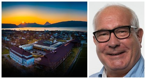AVVENTER: Styreleder i Nord Universitet, Øyvind Fylling-Jensen, har ikke rukket å sette seg inn i regjeringens planer for Nesna, men sier at avgjørelsen om å legge ned studiestedet var basert på en grundig utredning.