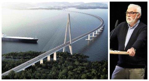Det er AMC (Aas. Jakobsen, Multiconsult og Cowi) som har laget et forslag til løsning md flytebro på E39 i Bjørnafjorden. Forslaget er utarbeidet på forespørsel fra Statens vegvesen. En lignende løsning kan bli aktuell over Alstenfjorden.