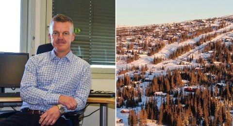 KUN 10 NYE: Sigdal kommune og kommunedirektør Jostein Harm er en av kommunene som har prøvd med en midlertidig tillatelse for hyttefolket til å melde flytting til hyttekommunen. Men uten særlig suksess så langt.