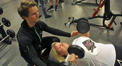 Hege Jakobsen Kolberg har funnet tilbake til treningen etter å vært med på Team Tæl.