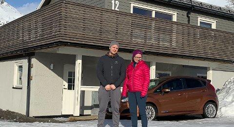 FLYTTER: Huset til Tony Fredheim og Therese Bunes ble solgt dagen etter visning.