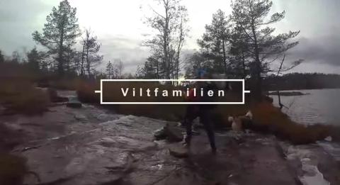VILTFAMILIEN: Familien fra Kvås har blitt dokumentar på Norse TV.