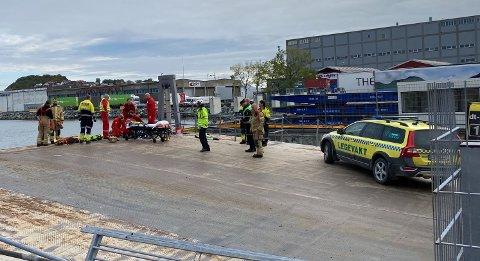 OMKOM: En person omkom i klemulykke i Trondheim.