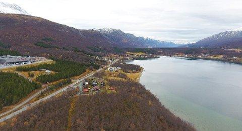 1.9 MILLIARDER: Samferdselsdepartementet har vedtatt et  styringsmål på 1,89 milliarder kroner for nye E8 i Ramfjord.  Foto: Bengt Nielsen