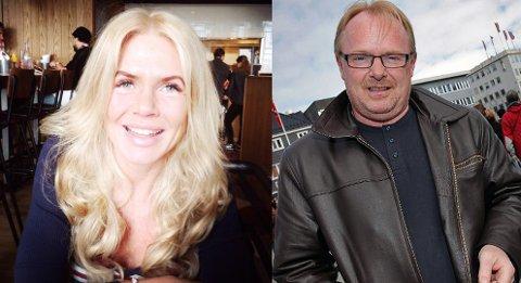 VALGKLAR: Kristin Spitznogle (t.v) og Per Sandberg blir fredag etter all sannsynlighet valgt som henholdsvis andre- og førstekandidat for Liberalistene i Troms og Finnmark.