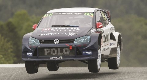 SISTE EM-RUNDE: Tord Linnerud kjører EM-runde i Riga i helga.Foto: Johnny Loix