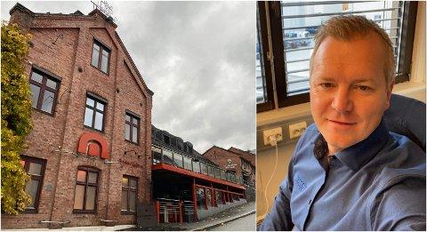 JAKTER EGNE LOKALER: Raymond Skaugerud og hans selskap er på jakt etter egne lokaler, men etablerer seg i første omgang i felles kontorlokaler i Bryggerikvartalet.