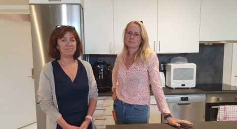 VOLDEN TAR IKKE SLUTT: – Vi vet at vold i parforhold øker i kriser, sier Marianne Ulven Solli (til venstre) og Heidi Eng.
