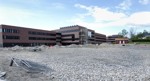 SNART FERDIG: I  mai flytter veterinærer og veterinærstudenter inn i det nye veterinærbygget ved NMBU.