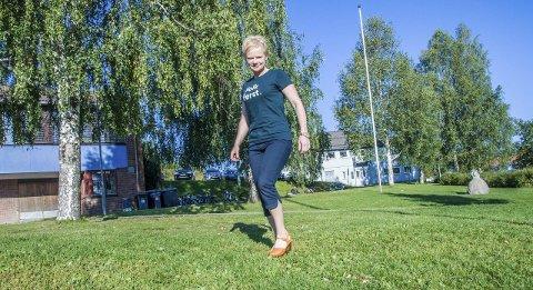 Ordførerkandidat: Magdalena Lindtvedt er spent foran valget.
