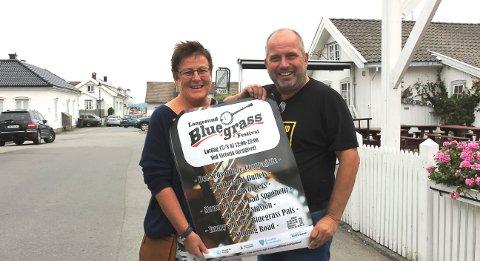 SKJER: Nina & Rune Arctander i Langesund kulturopplevelser.