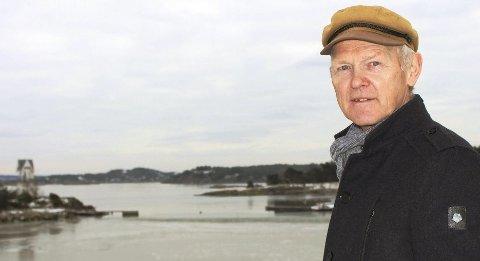 Tormod Svartdal er styreleder i Naturvernforbundet i Telemark og vil at Fylkesmannen i Vestfold og Telemark stanser Kystverkets søknad om å utdype enda mer i sjøbunnen i Gamle Langesund i prosjektet Innseiling Grenland.