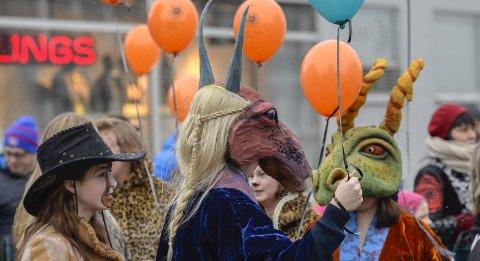 Vinterlysfestivalen: Nordland Teater er teatersjef Birgitte Strids kjerne, og særlig under Vinterlysfestivalen opplever hun at det er resten av byens kjerne også. Foto: Øyvind Bratt