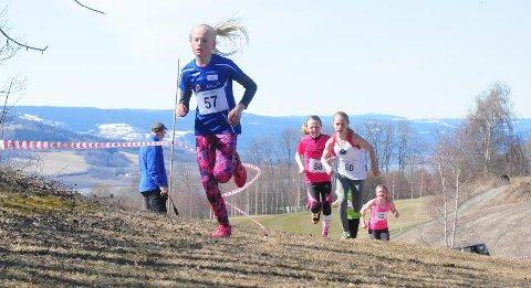 Moelvens Helene Bakke vant 11-årsklassen for jenter, og ble KM-vinner.