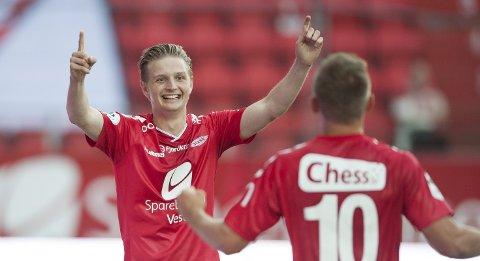 Brann - Fredrikstad 5-1 Erik Huseklepp Steffen Lie Skålevik