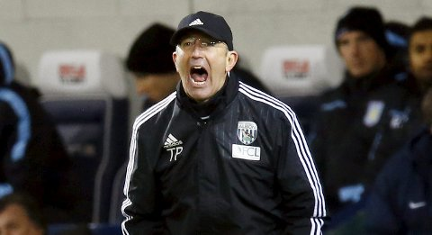 West Bromwich Albion-manager Tony Pulis satser på FA-cupen.