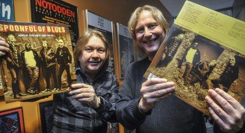 Gleder seg: Morten Omlid og Jostein Forsberg avslutter Spoonful sin konsertsesong lørdag på hjemmebane på Teledølen. Da kan du også sikre deg en av de 300 vinyleksemplarene av siste-plata.