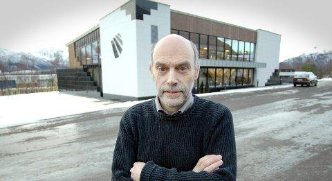 PRISET: Bjørn Melby er daglig leder i Melby Snekkerverksted som for fjerde gang har vunnet konkurransen «Årets trapp» i Tyskland, denne gangen i kategorien innovasjon.